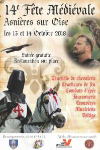 14e Fête Médiévale d'Asnières-sur-Oise
