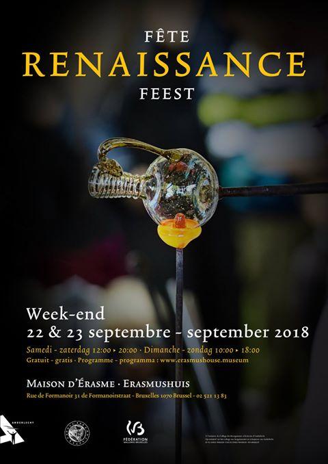 Un week-end Renaissance à la Maison d'Érasme (2018)