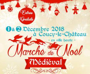 Marché Médiévale à Coucy-le-Chateau (2018)