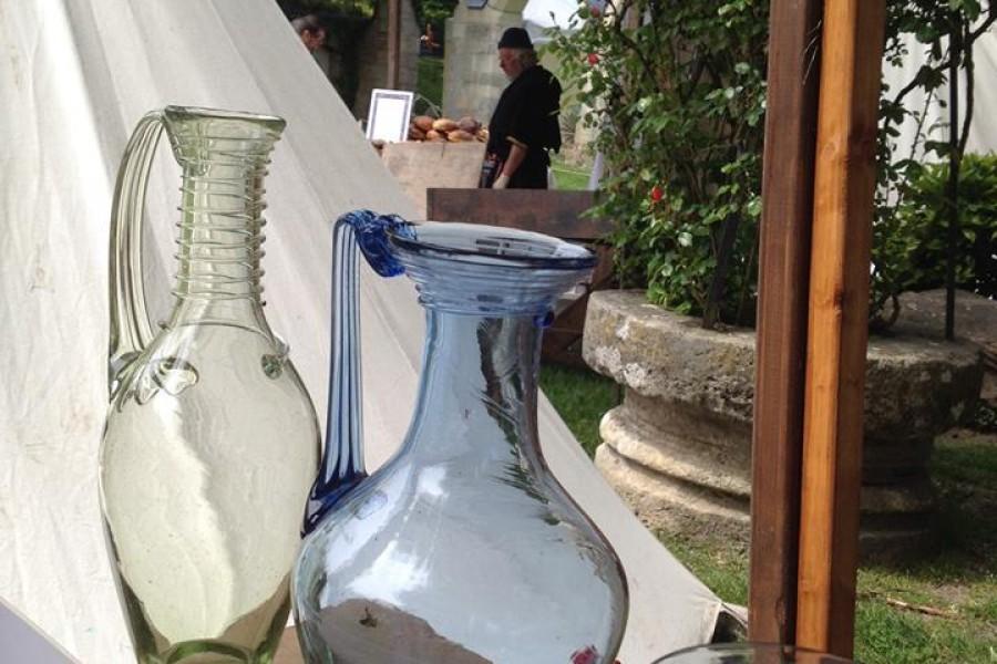 Carafe Romaine et 20h bleue