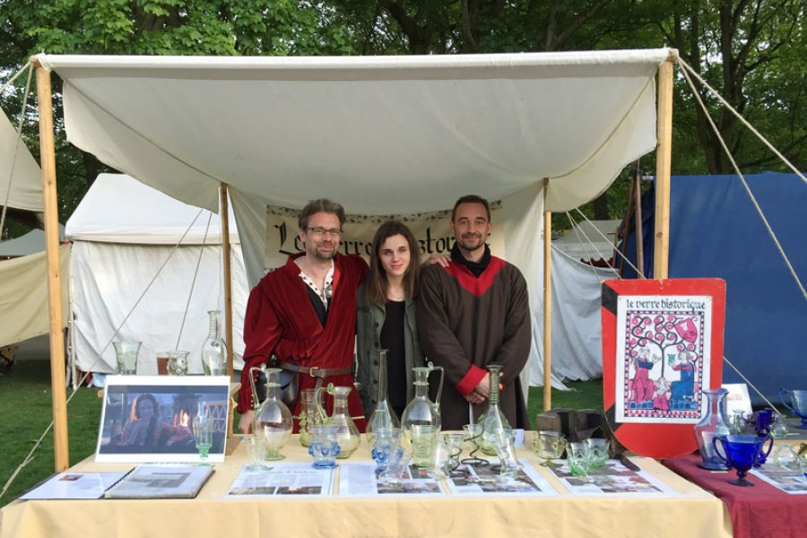 Philippe, Eva, Fabrice