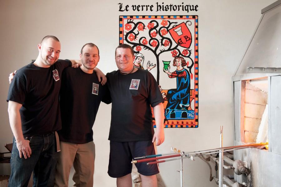 Fabrice, Daniele, Radek
