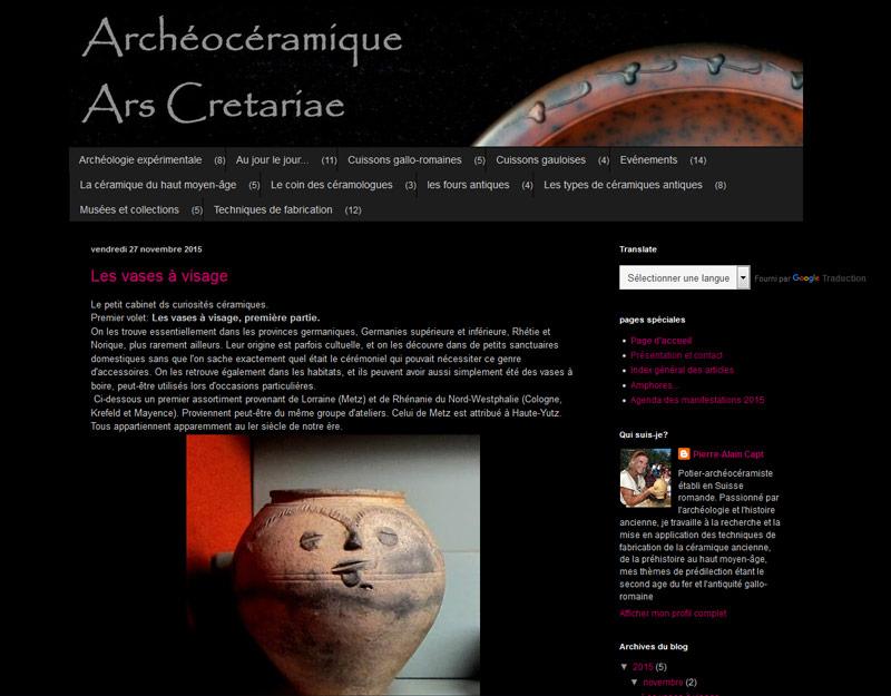 Archeocéramique Ars Cretariae