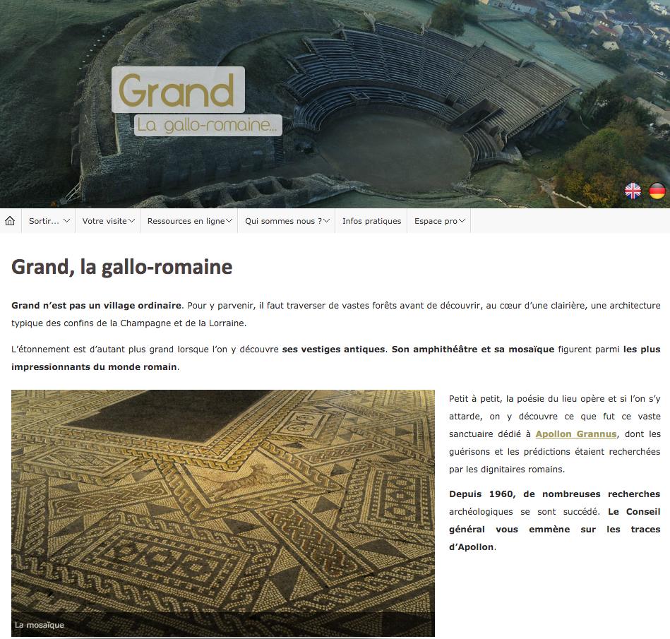 Site Archéologique de Grand