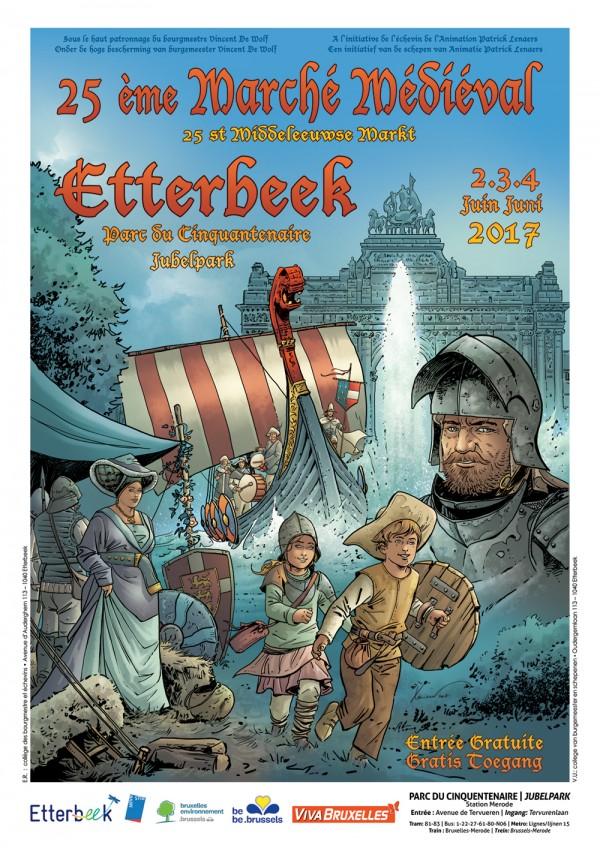 25ème Marché Médiéval d'Etterbeek