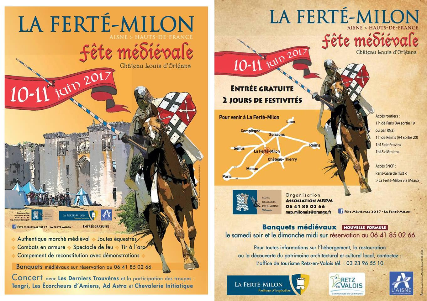 Fête Médiévale de La Ferté-Milon
