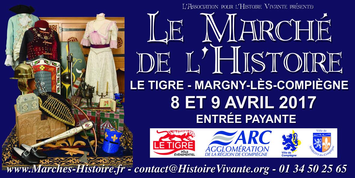 Le Marché de l'Histoire à Margny-lès-Compiègne