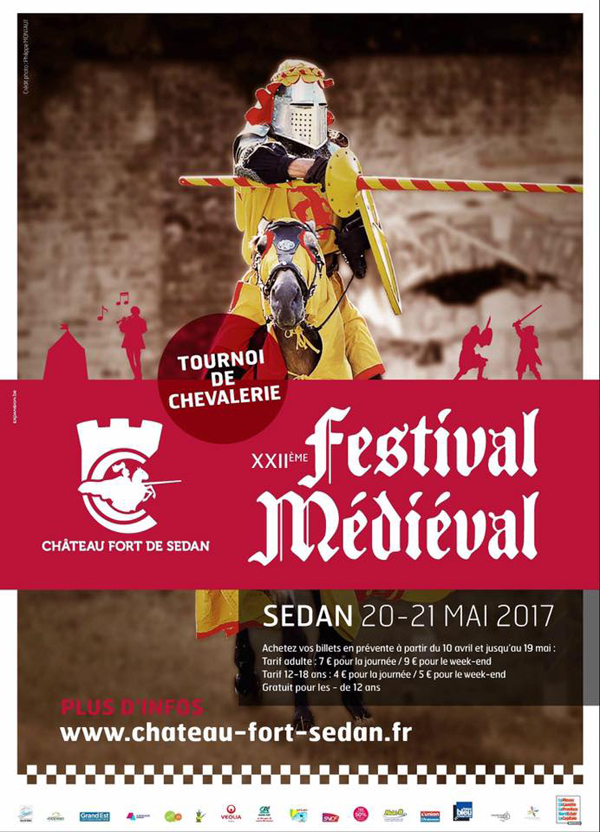 Festival médiéval de Sedan 22e édition