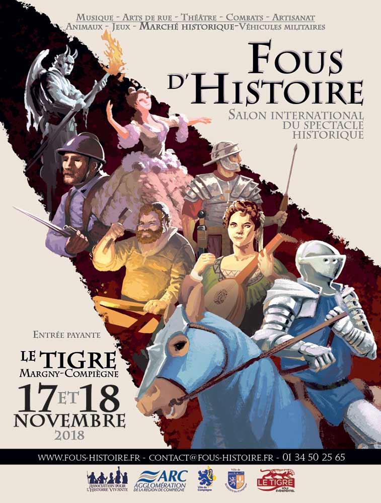 Fous d'Histoire Compiègne (2018)