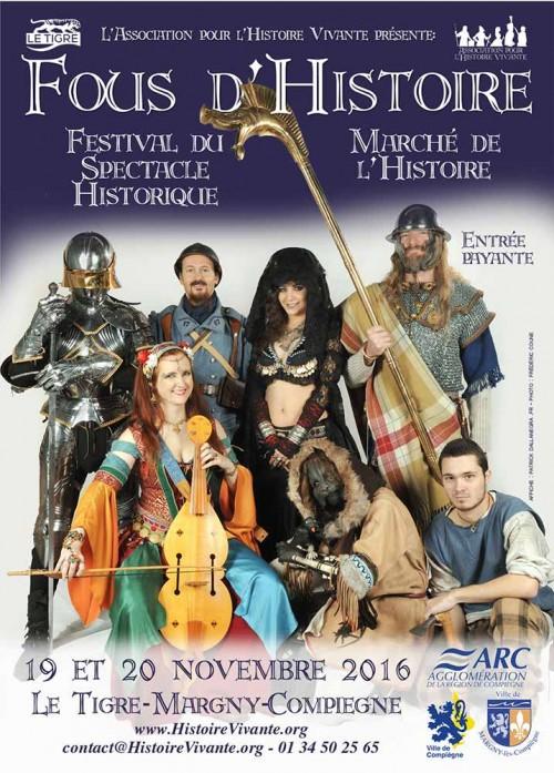 Le Marché de l'Histoire au Festival du spectacle historique.